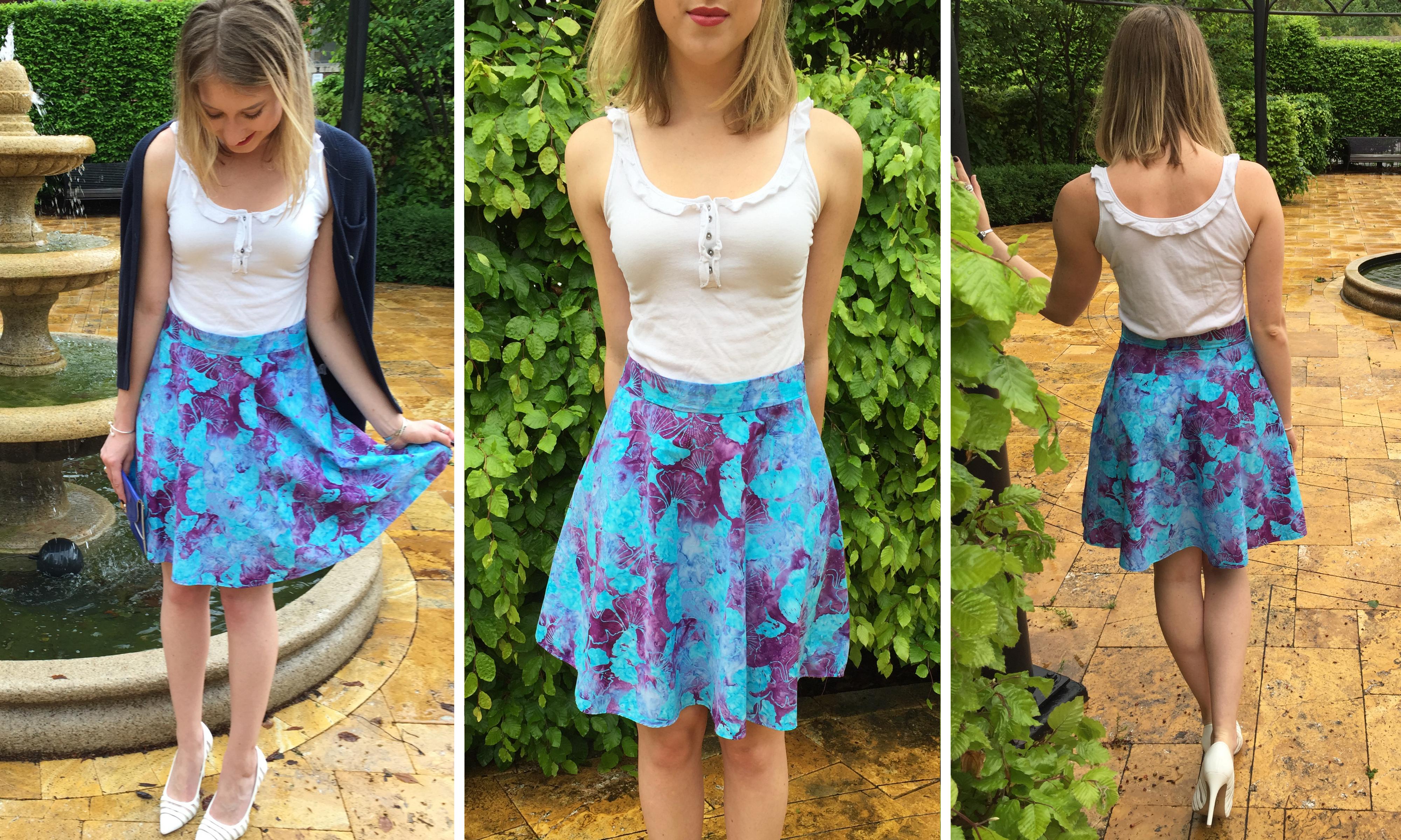 12b1dac547e2 How To Sew An Easy Half Circle Skirt (With A Zipper)   The Boho ...