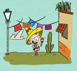 Mexican Loud House