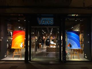 Collaboration artistique avec Vans
