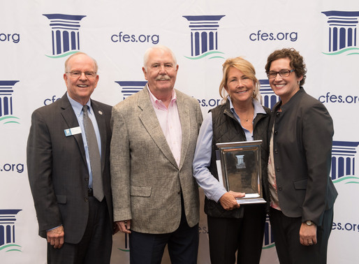Community Foundation's award recipients honored & annual grant making celebrated