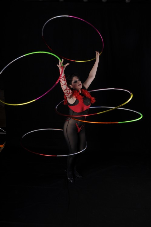 Hula Hoop Manipulation entertainment