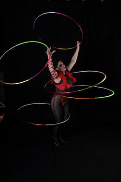 Hula Hoop Manipulation entertainment