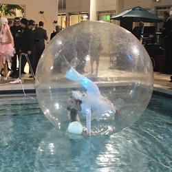 Bubble  contortion entertainment