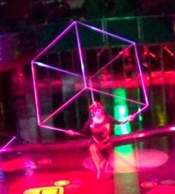 Cirque Style Cube Act