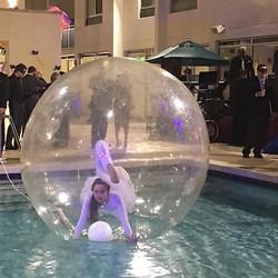 Bubble entertainment