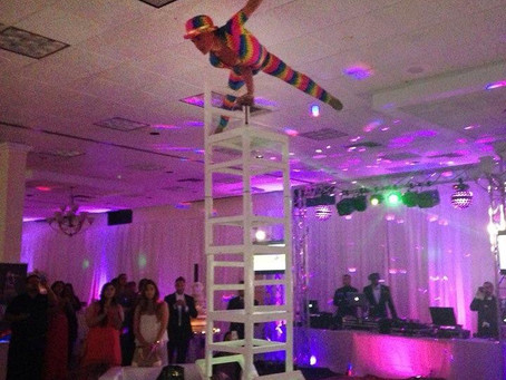 Cirque Style Chairs Stacking Act