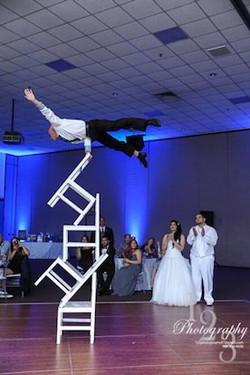 Vitaliy Vinnikov Chair Stacking wedding show