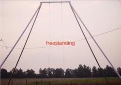 Freestanding rig (A-frame)