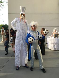 Stilt Walker Cirque Entertainment