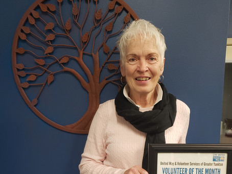March Volunteer of the Month - Mary Pesek