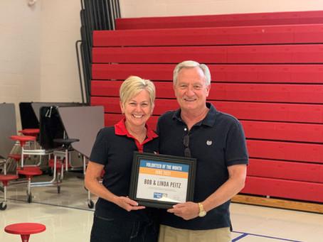 June 2021 Volunteer of the Month - Bob & Linda Peitz