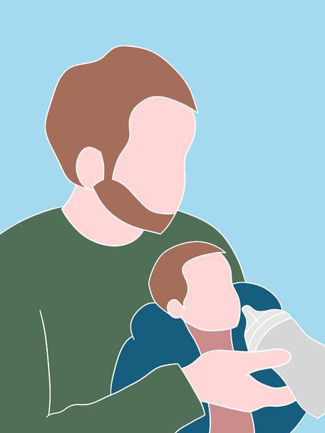 Illustration sur le thème de la parentalité 3