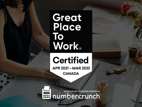 numbercrunch named one of Canada's Best Workplaces in Great Place to Work® Awards Canada