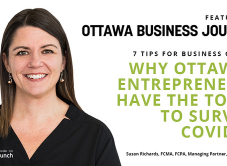 Why Ottawa's Entrepreneurs Have the Tools to Survive COVID-19