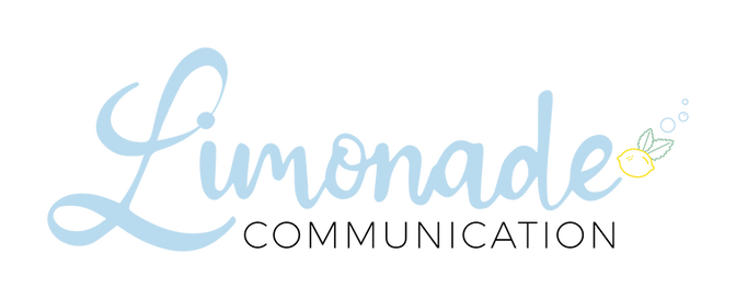 Logo limonade communication animation 3