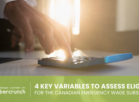 4 Key Variables to Assess Eligibility for the Canadian Emergency Wage Subsidy