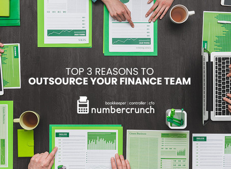 Top 3 Reasons to Outsource Your Finance Team