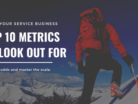 Dashboard Metrics for Service Businesses