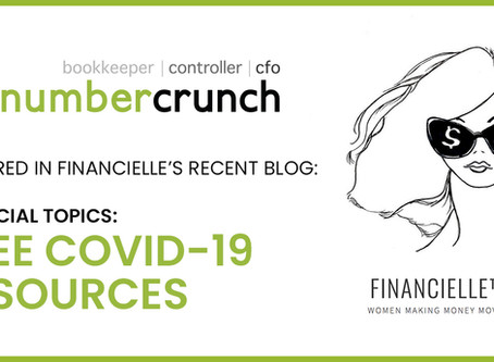 numbercrunch's COVID-19 Resources Featured in FinanciElle: Women Making Money Moves Blog