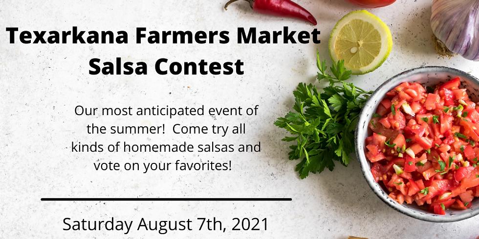Texarkana Farmers Market Salsa Contest