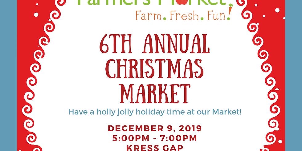 6th Annual Christmas Market