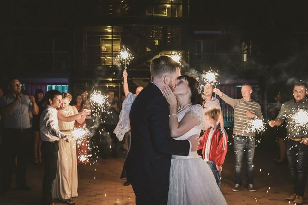 Как закончить свадебный вечер