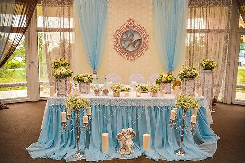 """Оформление """"Небесной свадьбы"""""""