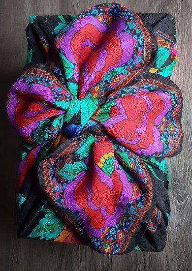 Bojagi Wrap - Liz Claiborne Vintage Scarf