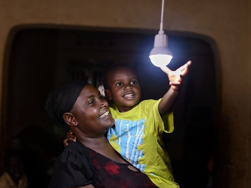 Light a house - Solar lamp