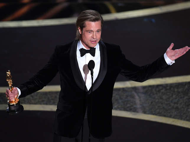 Brad Pitt won the Oscars after 30 years in 2020