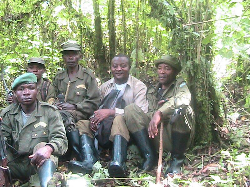 Rangers in Kahuzi-Biega National Park