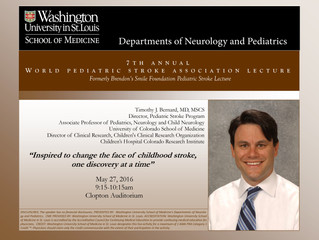 Annual Lectureship Series on Pediatric Stroke