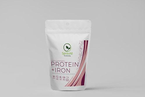 Sprout Powered Protein Iron