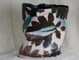 Paisley Acanthus Vase