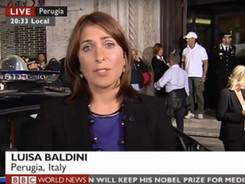 Screen grab of Luisa reporting on the ve