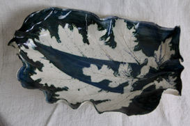 Paisely Acanthus Shell Bowl