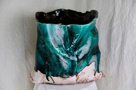 Paisely Acanthus Vase, 2020 (3)