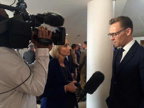 Louisa interviews Tom Hiddlestone for BB
