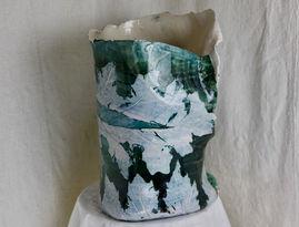 Paisely Acanthus Vase, 2020