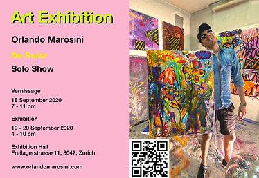 Solo Show   Orlando Marosini