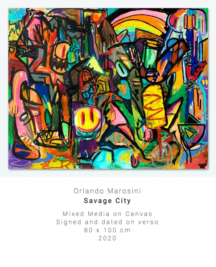 Savage City | Orlando Marosini