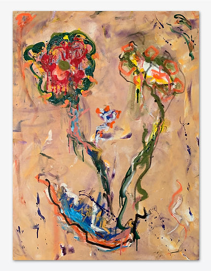 Orange Vase Euphoric Flowers | Orlando Marosini