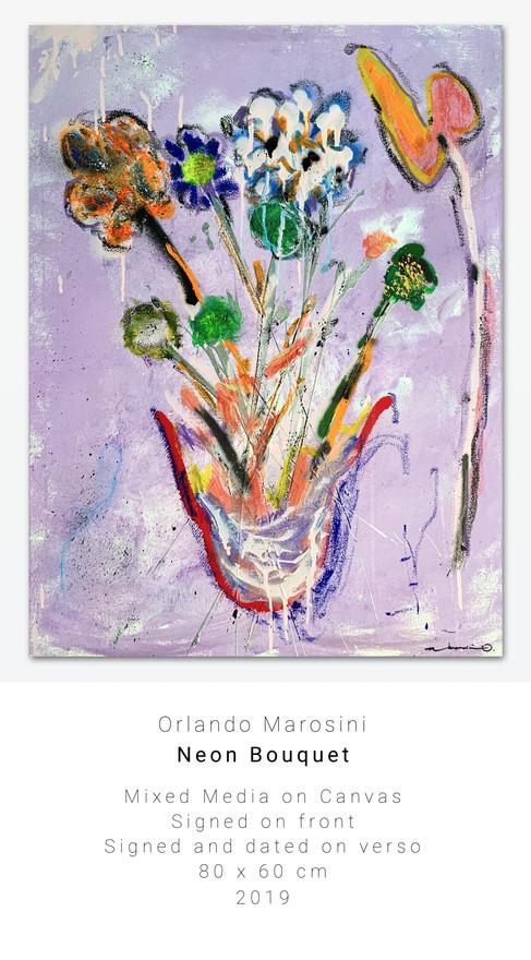 Neon Bouquet | Orlando Marosini