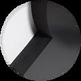 Lettres en relief 3D pour enseigne intérieure
