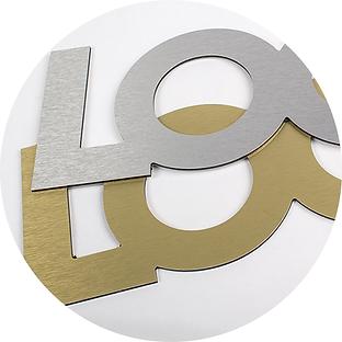 Lettres 3D Lyon