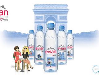 Evian ne manque pas de satisfaire votre soif de découverte !