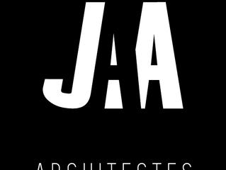 Force 9 Communication repense l'identité visuelle de JAA Architectes