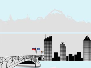 Création & Design graphique pour décoration vitres de bureaux / Acte 1