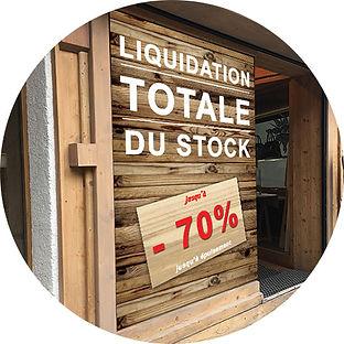 Affiches liquidation lyon