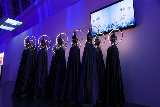 Exhibition Scene Featuring Dabeiyuzhou's Future Budda